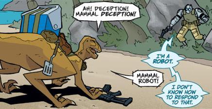 Atomic Robo Mammal Robot