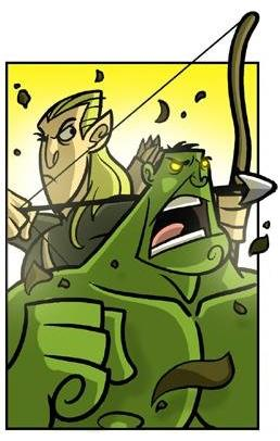 Penny Arcade Troy Legolas and Hulk