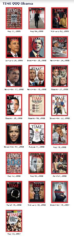 TIME 2008 Obama covers