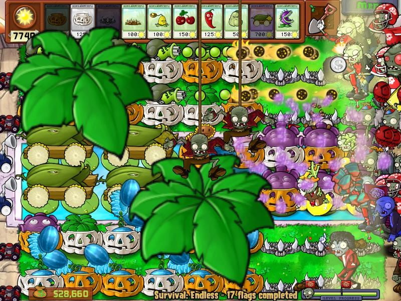 Plantas VS Zombies + Plantas VS Zombies Game of the YEAR [Full