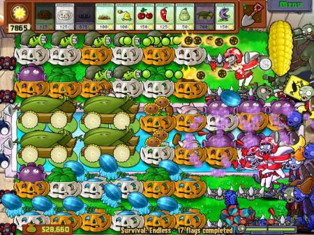 Plants vs Zombies Survival: Endless