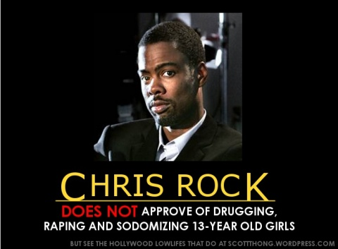 Chris Rock DOES NOT Approve Rape