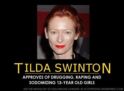 Tilda Swinton Approves Rape