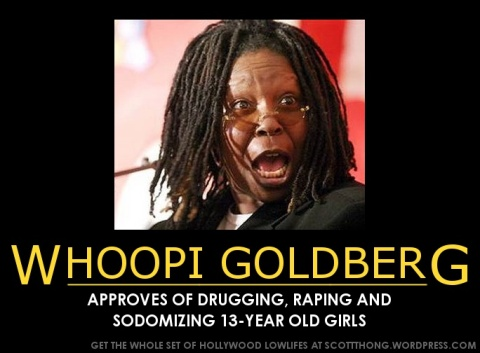 Whoopi Goldberg Approves Rape