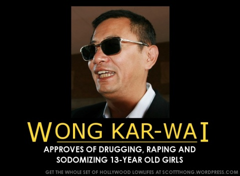 Wong Kar-wai Approves Rape