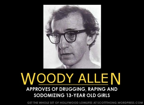 Woody Allen Approves Rape