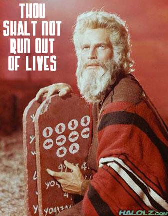 Konami Code Commandments