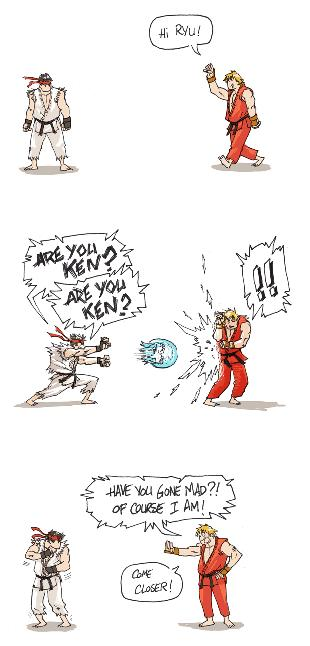 Halolz Street Fighter Are You Ken