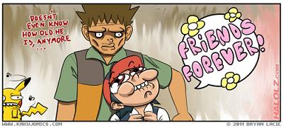 Ash and Brock Pokemon best bros friends forever