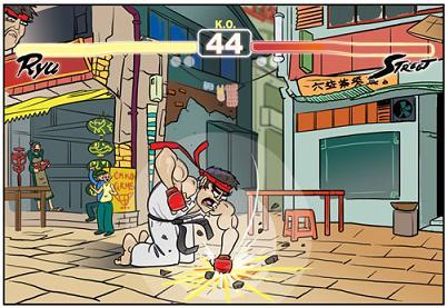 Literal Street Fighter