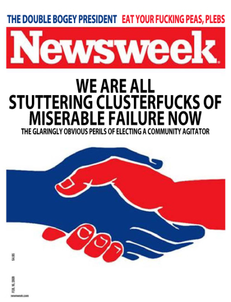 Obama SCOaMF Stuttering Clusterfuck of a Miserable Failure