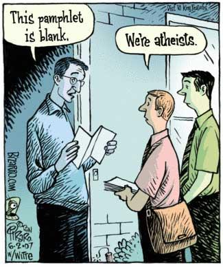 Atheist Evangelists Cartoon